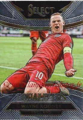 2015 - Panini Select Soccer - N° E08 - Wayne ROONEY (Angleterre) (Equalizers)