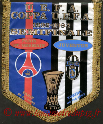 Grands Fanions  PSG-Juvents Turin  1992-93