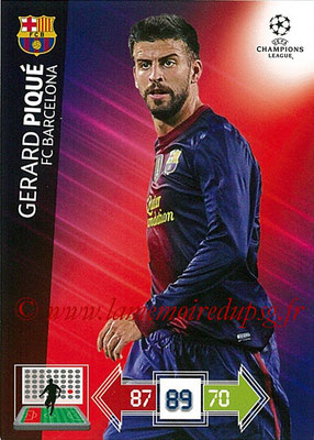 2012-13 - Adrenalyn XL champions League N° 026 - Sergio BUSQUETS (FC Barcelone