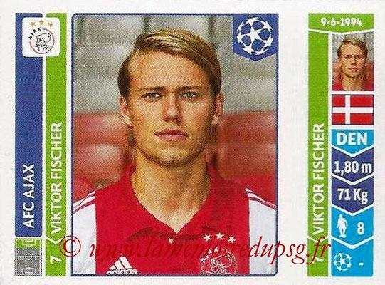 2014-15 - Panini Champions League N° 463 - Viktor FISCHER (AFC Ajax)