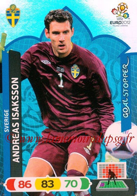 Panini Euro 2012 Cards Adrenalyn XL - N° 239 - Andreas ISAKSSON (Suède) (Goal Stopper)