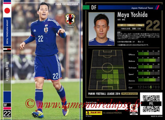 Panini Football League 2014 - PFL06W - N° 012 - Maya YOSHIDA (Japon)