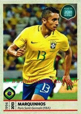 N° 308 - MARQUINHOS (2013-??, PSG > 2017, Brésil)