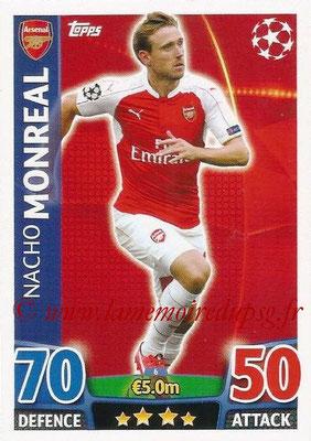 2015-16 - Topps UEFA Champions League Match Attax - N° 006 - Nacho MONREAL (Arsenal FC)