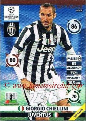 2014-15 - Adrenalyn XL champions League Update edition N° UE109 - Giorgio CHIELLINI (Juventus FC) (Key Player)