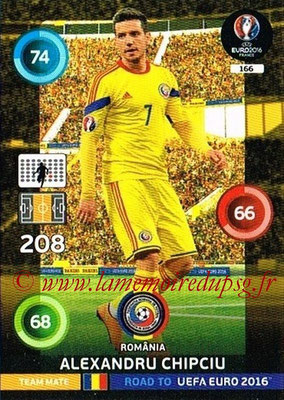 Panini Road to Euro 2016 Cards - N° 166 - Alexandru CHIPCIU (Roumanie)