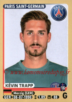 2015-16 - Panini Ligue 1 Stickers - N° 339 - Kevin TRAPP (Paris Saint-Germain)