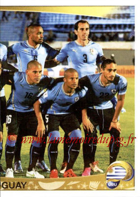 Panini Copa America Centenario USA 2016 Stickers - N° 232 - Equipe Uruguay 2