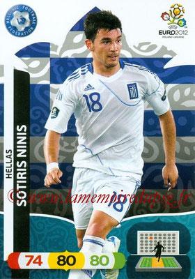 Panini Euro 2012 Cards Adrenalyn XL - N° 098 - Sotiris NINIS (Grèce)
