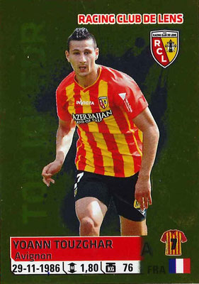 2014-15 - Panini Ligue 1 Stickers - N° 144 - Yoann TOUZGHAR (RC Lens)