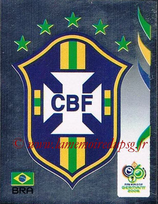 2006 - Panini FIFA World Cup Germany Stickers - N° 379 - Logo Brésil