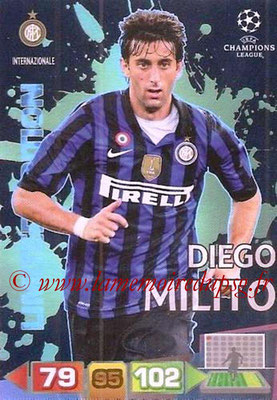 2011-12 - Panini Champions League Cards - N° LE23 - Diego MILITO (Inter Milan) (Limited Edition)