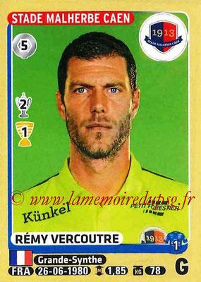 2015-16 - Panini Ligue 1 Stickers - N° 099 - Rémy VERCOUTRE (SM Caen)