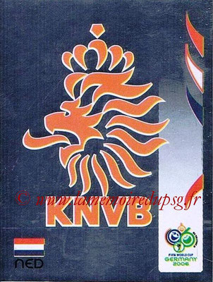 2006 - Panini FIFA World Cup Germany Stickers - N° 227 - Logo Pays Bas