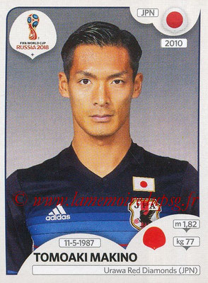 2018 - Panini FIFA World Cup Russia Stickers - N° 659 - Tomoaki MAKINO (Japon)