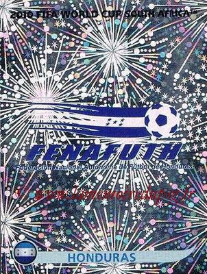 2010 - Panini FIFA World Cup South Africa Stickers - N° 601 - Logo Honduras