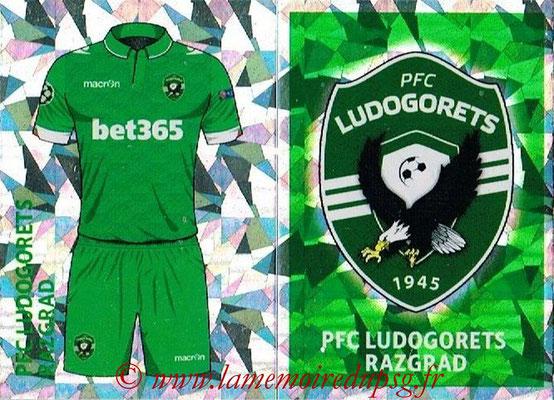 2016-17 - Topps UEFA Champions League Stickers - N° QFF 1-2 - Logo + Maillot Domicile (PFC Ludogoretz Razgrad)