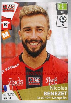 2017-18 - Panini Ligue 1 Stickers - N° 138 - Nicolas BENEZET (Guingamp)