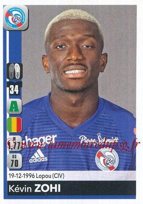 2018-19 - Panini Ligue 1 Stickers - N° 471 - Kévin ZOHI (Strasbourg)