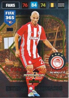 2016-17 - Panini Adrenalyn XL FIFA 365 - N° 410 - Esteban CAMBIASSO (Olympiacos FC) (Veteran)