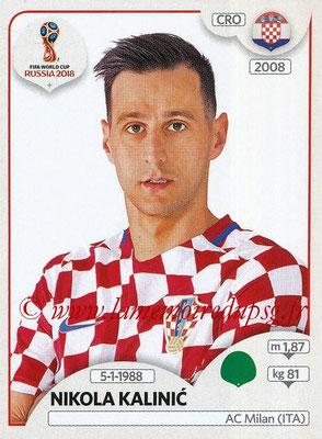 2018 - Panini FIFA World Cup Russia Stickers - N° 329 - Nikola KALINIC (Croatie)