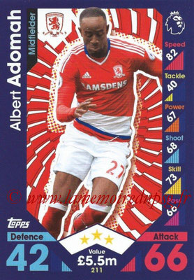 2016-17 - Topps Match Attax Premier League - N° 211