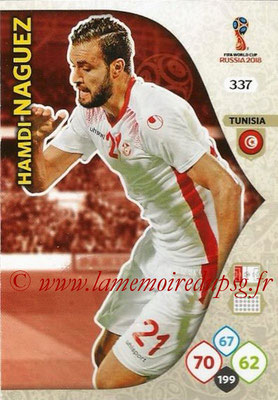 2018 - Panini FIFA World Cup Russia Adrenalyn XL - N° 337 - Hamdi NAGUEZ (Tunisie)