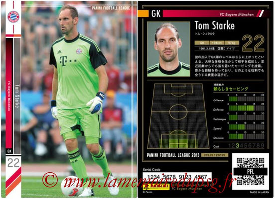 Panini Football League 2013 - PFL01 - N° 122 - Tom Starke ( FC Bayern Munchen )