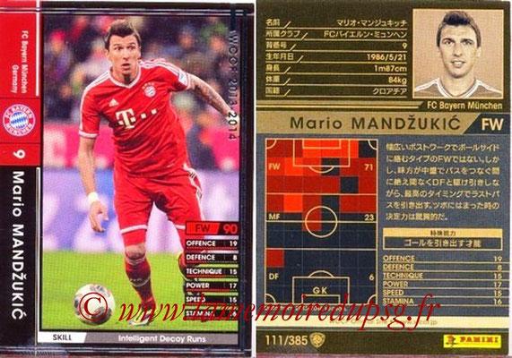 2013-14 - WCCF - N° 111 - Mario MANDZUKIC (FC Bayern Munich)