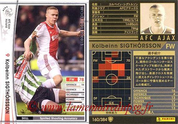 2012-13 - WCCF - N° 160 - Kolbeinn SIGTHORSSON (AFC Ajax)