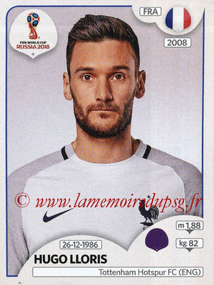 2018 - Panini FIFA World Cup Russia Stickers - N° 194 - Hugo LLORIS (France)