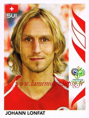 2006 - Panini FIFA World Cup Germany Stickers - N° 484 - Johann LONFAT (Suisse)