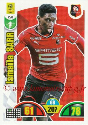 2018-19 - Panini Adrenalyn XL Ligue 1 - N° 298 - Ismaila SARR (Rennes)