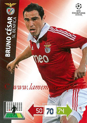 2012-13 - Adrenalyn XL champions League N° 065 - Bruno CESAR (SL Benfica)