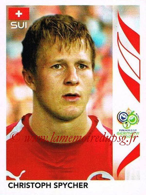 2006 - Panini FIFA World Cup Germany Stickers - N° 480 - Christoph SPYCHER (Suisse)