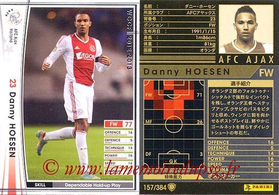 2012-13 - WCCF - N° 157 - Danny HOESEN (AFC Ajax)