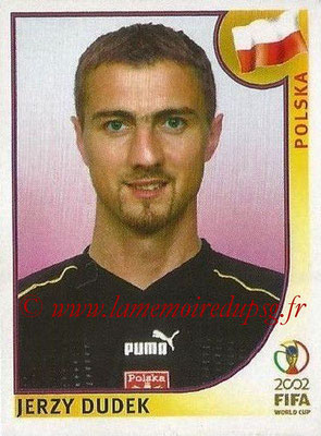 2002 - Panini FIFA World Cup Stickers - N° 261 - Jerzy DUDEK (Pologne)