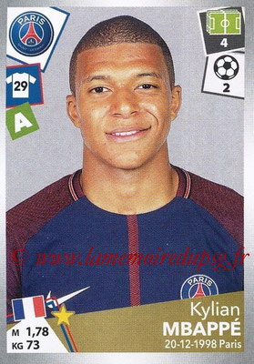 2017-18 - Panini Ligue 1 Stickers - N° 383 - Kylian MBAPPE (Paris Saint-Germain)