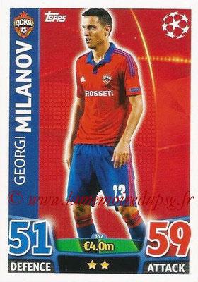 2015-16 - Topps UEFA Champions League Match Attax - N° 354 - Georgi MILANOV (CSKA Moscou)