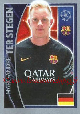 2015-16 - Topps UEFA Champions League Stickers - N° 306 - Marc-André TER STEGEN (FC Barcelone)
