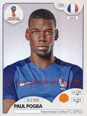 2018 - Panini FIFA World Cup Russia Stickers - N° 205 - Paul POGBA (France)