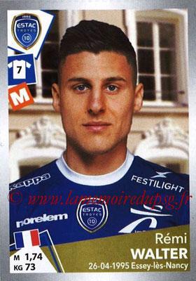 2017-18 - Panini Ligue 1 Stickers - N° T39 - Rémi WALTER (Toulouse) (Transfert)