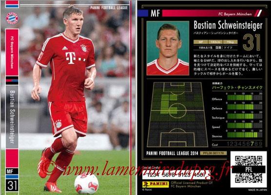 Panini Football League 2014 - PFL08 - N° 087 - Bastian SCHWEINSTEIGER (Bayern Munich)