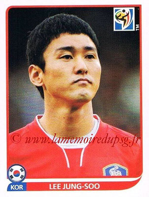 2010 - Panini FIFA World Cup South Africa Stickers - N° 150 - Lee JUNG-SOO (Corée du Sud)