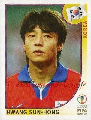 2002 - Panini FIFA World Cup Stickers - N° 257 - Hwang SUN-HONG (Corée)