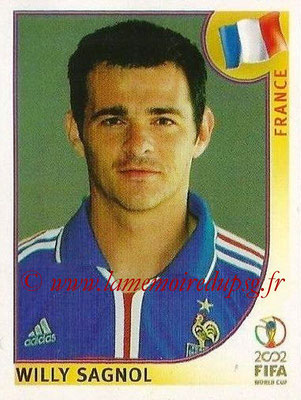 2002 - Panini FIFA World Cup Stickers - N° 032 - Willy SAGNOL (France)