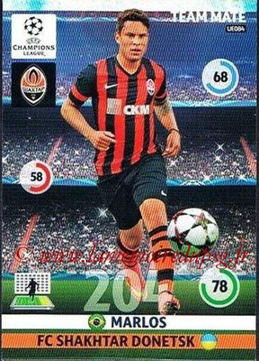 2014-15 - Adrenalyn XL champions League Update edition N° UE084 - MARLOS (FC Shakhtar Donetsk)