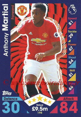 2016-17 - Topps Match Attax Premier League - N° 198