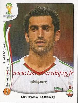 2014 - Panini FIFA World Cup Brazil Stickers - N° 462 - Mojtaba JASSARI (Iran)