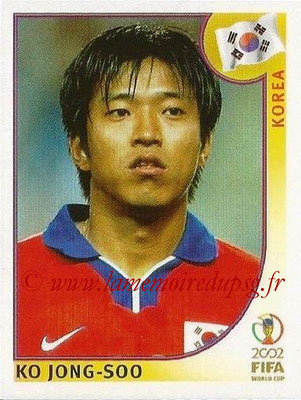 2002 - Panini FIFA World Cup Stickers - N° 252 - Ko JONG-SOO (Corée)